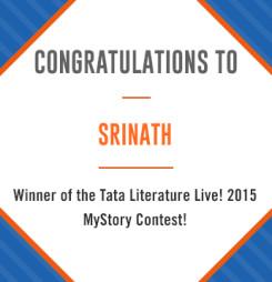 Tata Literature Live! MyStory 2015, Winning Entry #3