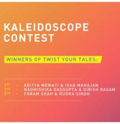 Kaleidoscope Contest Winners – Twist Your Tales