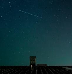 Catch a shooting star by Kankana Basu